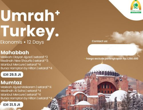 Promo Umroh Plus Turki Bursa November 2020