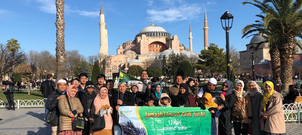 Paket Umroh Plus Turki Ramadhan 2021